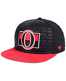 Authentic NHL Headwear Ottawa Senators Rinkside Snapback Cap