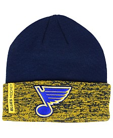 Authentic NHL Headwear St. Louis Blues Pro Rinkside Cuffed Knit Hat