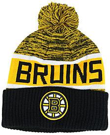 Authentic NHL Headwear Boston Bruins Goalie Knit Hat