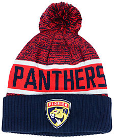 Authentic NHL Headwear Florida Panthers Goalie Knit Hat
