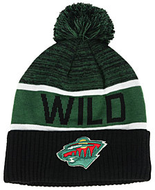 Authentic NHL Headwear Minnesota Wild Goalie Knit Hat