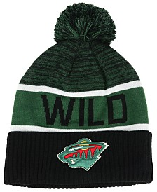 Authentic NHL Headwear Minnesota Wild Goalie Knit Hat