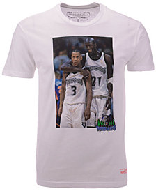 Mitchell & Ness Men's Minnesota Timberwolves Photo Real T-Shirt