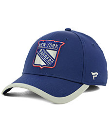 Authentic NHL Headwear New York Rangers Clutch Speed Flex Cap
