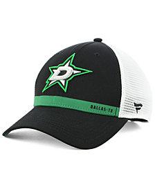 Authentic NHL Headwear Dallas Stars Rinkside Trucker Adjustable Cap