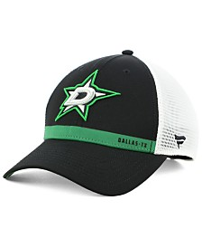 Authentic NHL Headwear Dallas Stars Rinkside Trucker Adjustable Cap