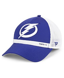 Authentic NHL Headwear Tampa Bay Lightning Rinkside Trucker Adjustable Cap