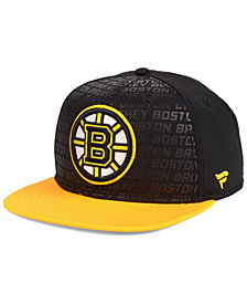 Authentic NHL Headwear Boston Bruins Rinkside Snapback Cap