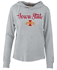 Pressbox Women's Iowa State Cyclones Cuddle Knit Hooded Sweatshirt