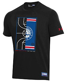Under Armour Men's Philadelphia 76ers Banners Begin in the Gym T-Shirt