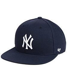Boys' New York Yankees Basic Snapback Cap
