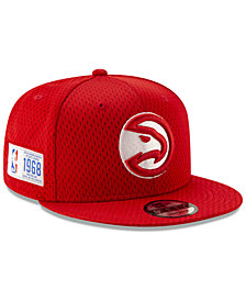 New Era Atlanta Hawks Jock Tag 9FIFTY Snapback Cap