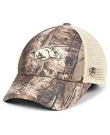 Top of the World Arkansas Razorbacks Prey Meshback Camo Snapback Cap