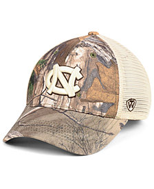 Top of the World North Carolina Tar Heels Prey Meshback Camo Snapback Cap