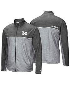 Colosseum Men's Michigan Wolverines Reflective Full-Zip Jacket