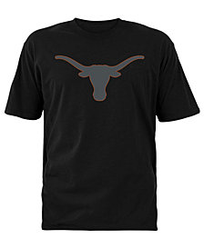 Colosseum Men's Texas Longhorns Blackout Logo T-Shirt