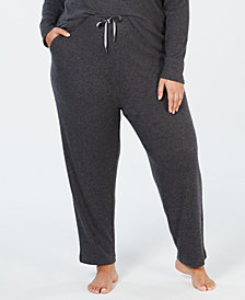 Alfani Plus Size Ribbed Soft-Knit Joggers, Created for Macy's