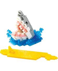 3D Pixel Puzzle - Shark