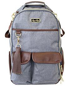 Boss Backpack Diaperbag- Handsome Heather Gray