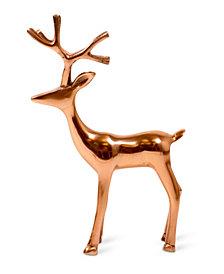 Large Reindeer Rose Gold