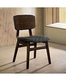 Jaykub Mid-Century Modern Quilted Seat Dining Chair