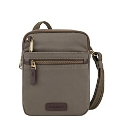 Travelon Anti-Theft Courier Mini Crossbody