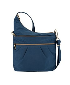 Anti-Theft Signature 3 Compartment Crossbody