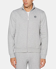 Perry Ellis Men's Heather Full-Zip Fleece Sweatshirt