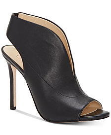 Jsesica Simpson Javrey Peep-Toe High-Heel Shooties
