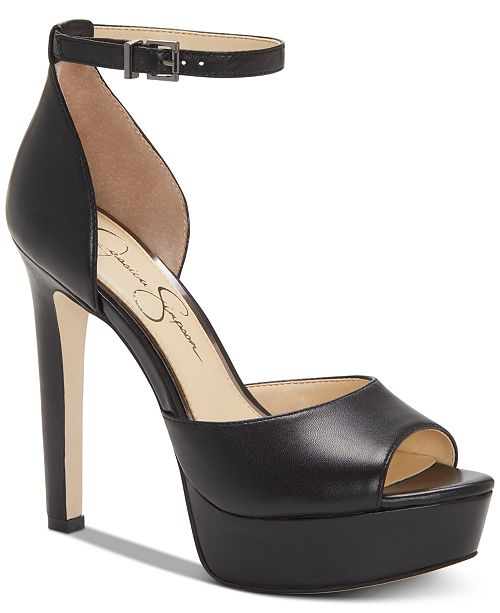 Jessica Simpson Beeya Two-Piece Platform Sandals, Created for Macy's