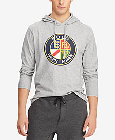 Polo Ralph Lauren Downhill Skier Men's Jersey Hooded T-Shirt