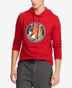 Polo Ralph Lauren T-shirts DOWNHILL SKIER MEN'S JERSEY HOODED T-SHIRT