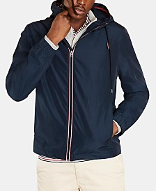 Brooks Brothers Men's Hooded Novelty Jacket