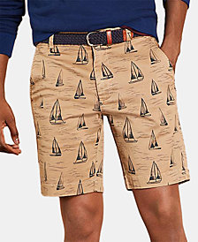 Brooks Brothers Men's Sailboat Graphic Shorts