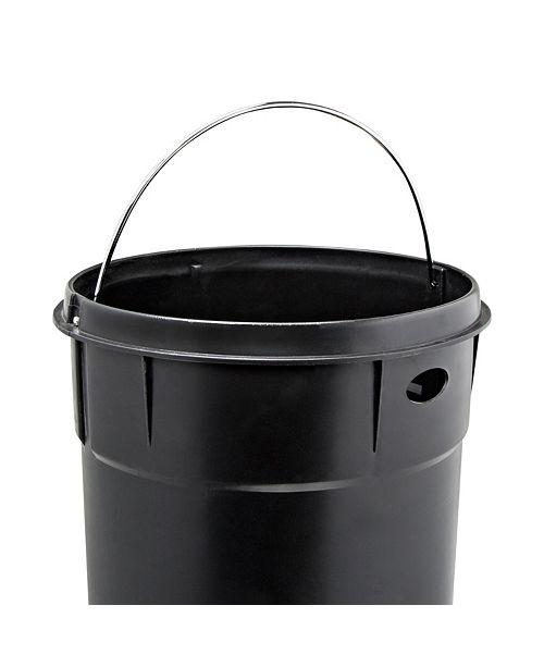30L Retro Kitchen Trash Can