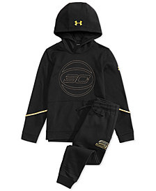 Under Armour Big Boys SC30 MVP Hoodie & Pants