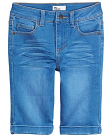 Big Girls Denim Bermuda Shorts, Created for Macy's