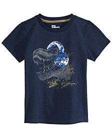 Epic Threads Little Boys Dino Music Graphic T-Shirt, Created for Macy's