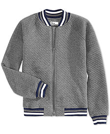 Epic Threads Big Boys Wolf Quilted Jacket, Created for Macy's