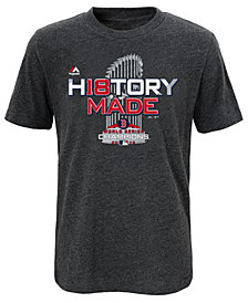 Majestic Boston Red Sox 2018 World Series Champ Locker Room T-Shirt, Little Boys (4-7)