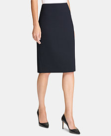 DKNY Long Pencil Skirt, Created for Macy's