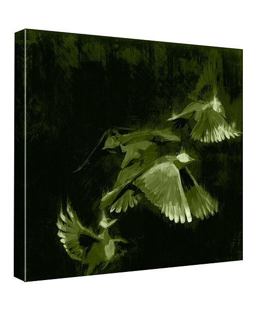 PTM Images Study 1 - Green Decorative Canvas Wall Art