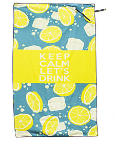 Beach Tech HP Beach Towel With Pocket - Keep Calm