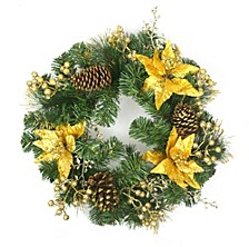 "20"" Decorated Wreath"