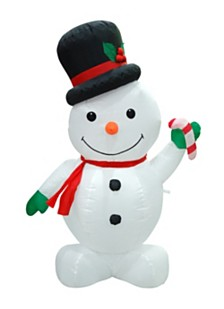 4' Inflatable Snowman