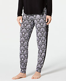 I.N.C. Printed Jogger Pajama Pants, Created for Macy's