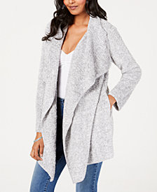 Style & Co Super Soft Draped Cardigan, Created for Macy's