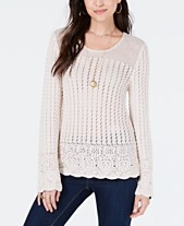Ivory Cream Women s Sweaters - Macy s f4f788f00