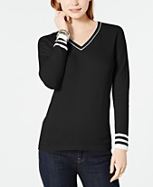 6b06bbd4a7 Women s Cotton Sweaters  Shop Women s Cotton Sweaters - Macy s