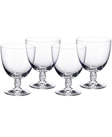 Montauk Red Wine, Set of 4
